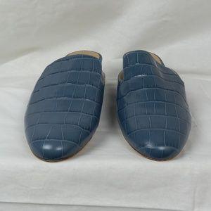 MICHAEL Michael Kors Natasha Luggage Leather Mules